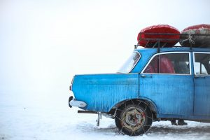winterbanden verplicht in het buitenland