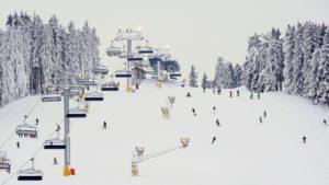 wintersport skigebied Winterberg