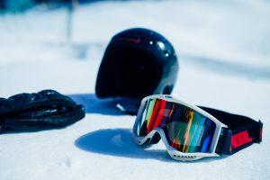 Ski- / Snowboard bescherming - helm, Handschoenen en Skibril