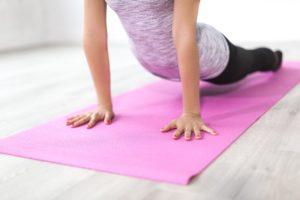 Balance oefening