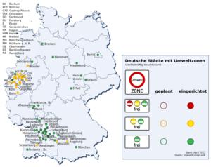 Milieuzones in Duitsland