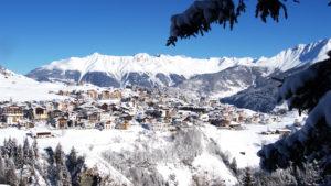 Skigebied Serfaus Fiss Ladis Village Dorp