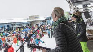 Glacier spring festival