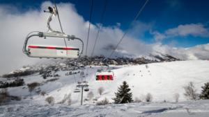 Lift in Les Deux Alpes