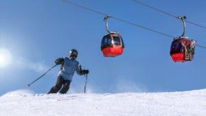 Opening skiseizoen in de Alpen