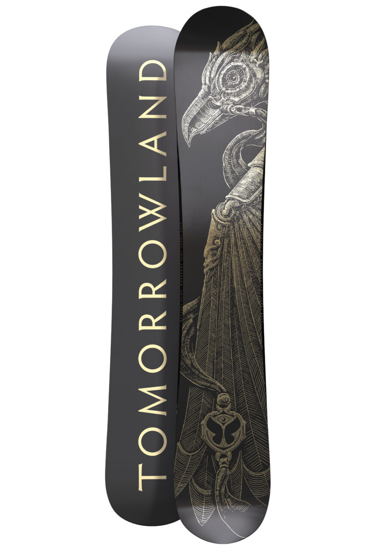 Limited Edition Black Amare Tomorrowland Snowboard Set