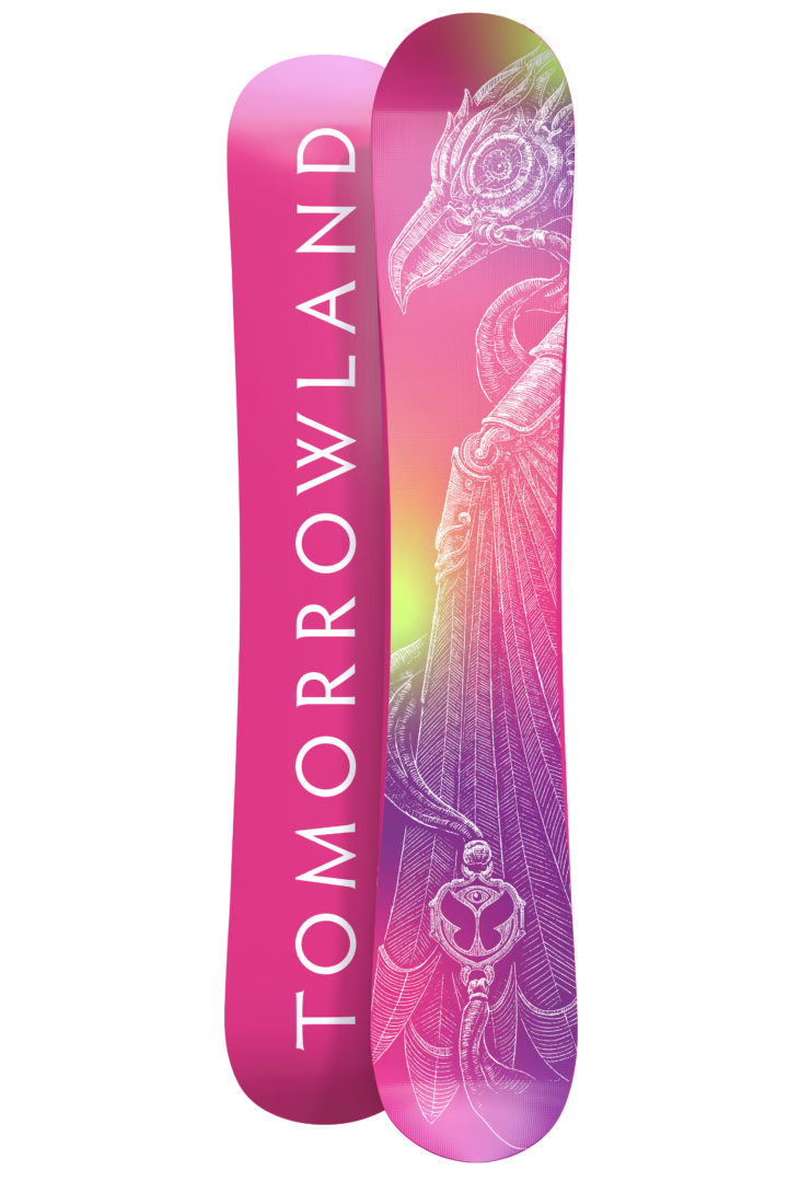 Limited Edition Pink Amare Tomorrowland Snowboard